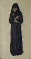 Монахиня со свечкой